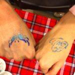 Glitter Tattoo Artist for Hire