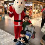Santa Claus Mascot for christmas rental
