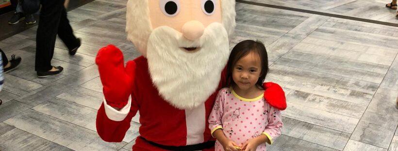 Santa mascot