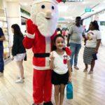 Santa mascot for christmas