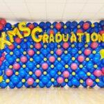 customised balloon backdrop