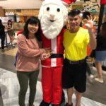 santa mascot rental for events