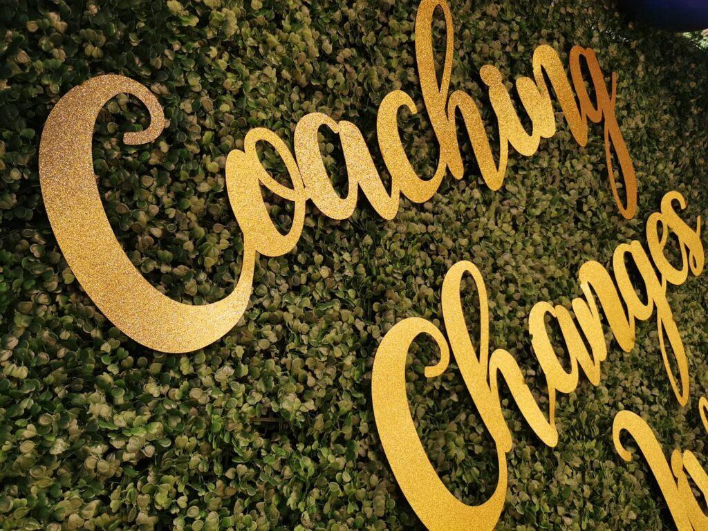 Customised Name on Backdrop