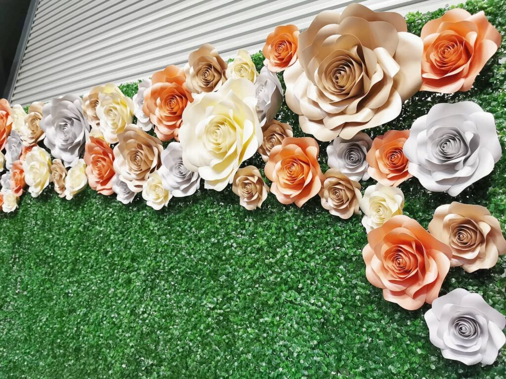 Flower Wall Backdrop Rental for Hire Singapore