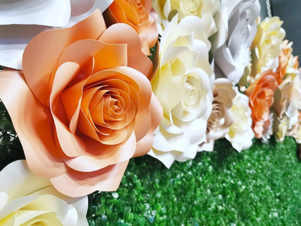 Flower Wall Backdrop for Rent Singapore