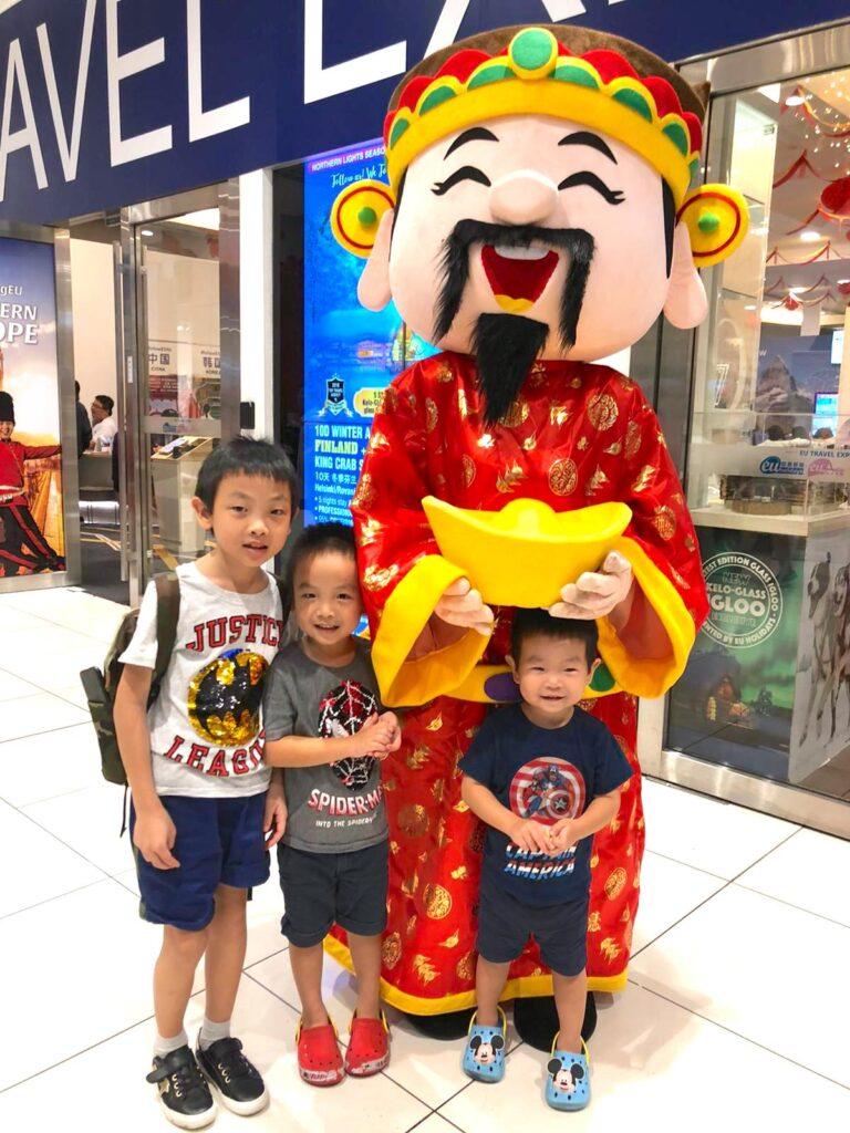 CNY mascot Singapore