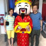 Chinese New Year Cai shen ye mascot for events Singapore