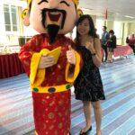 Chinese New Year Roving Mascot Cai shen ye