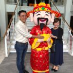 Chinese new year mascot for rental