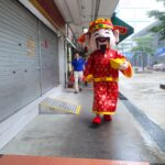 Roving Cai Shen Ye Mascots for events