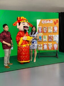 God of Fortune Mascot Rental Singapore