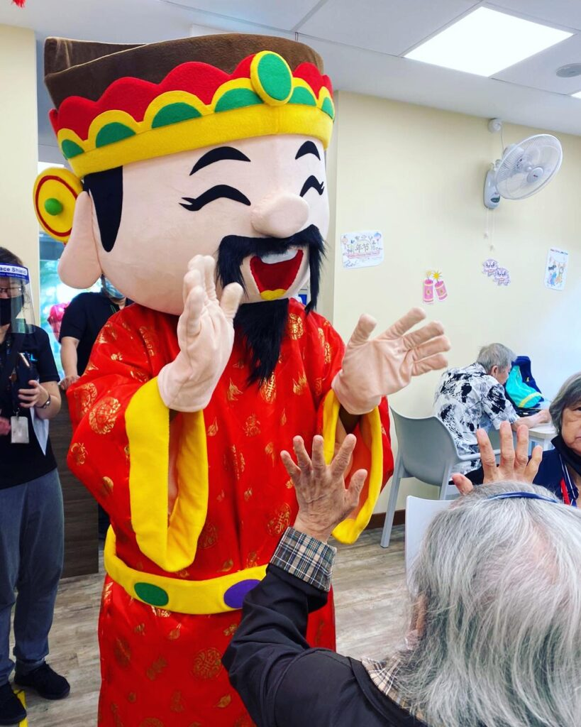 God of Fortune Mascot costume rental Singapore