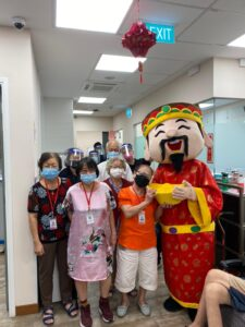 God of Fortune Mascot for rent Singapore