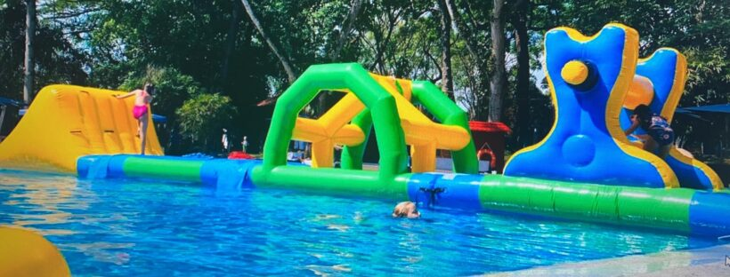 Inflatable Pool Obstacle Course Rental Singapore