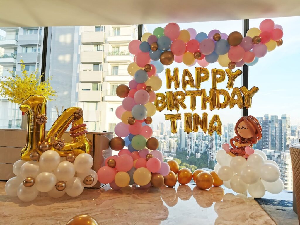 Organic Balloon Decorations for Party Singapore