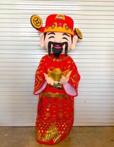 Rent Fu Lu Shou Mascot in Singapore
