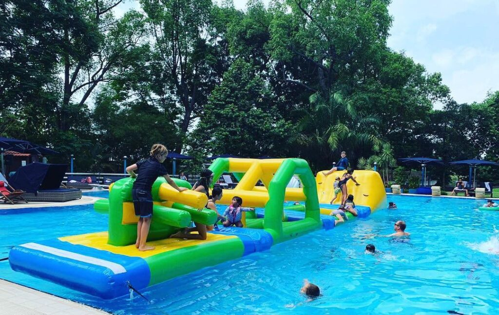 Water Obstacle Course for rent in SIngapore
