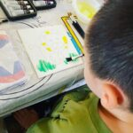 Canvas Paint Art for Kids Party in Singapore
