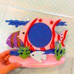DIY Kids PhotoFrame art and Craft