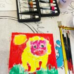 Kids Canvas Art for Birthday Party