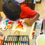 Kids Canvas Painting for Party Hire in Singapore