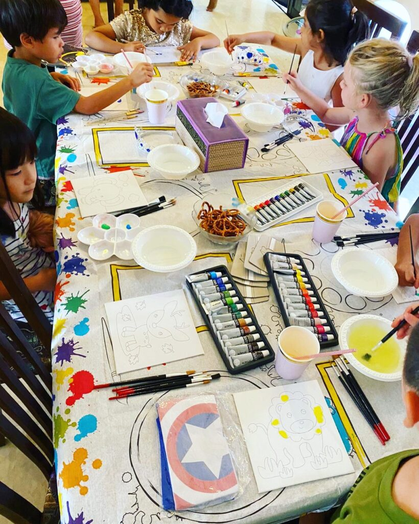 Kids Party Planner Art and Craft