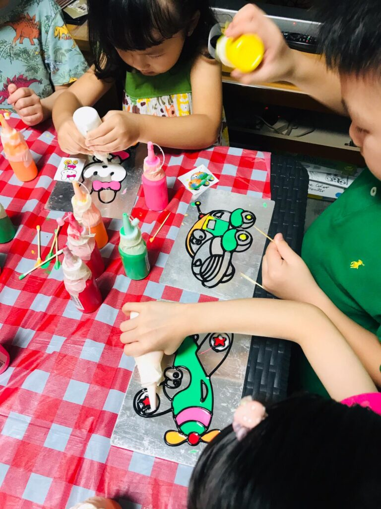Kids Party Planning Art and Craft