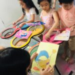 Kids Sand Art Activity for Birthday Party