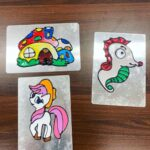 Window art and craft workshop for hire