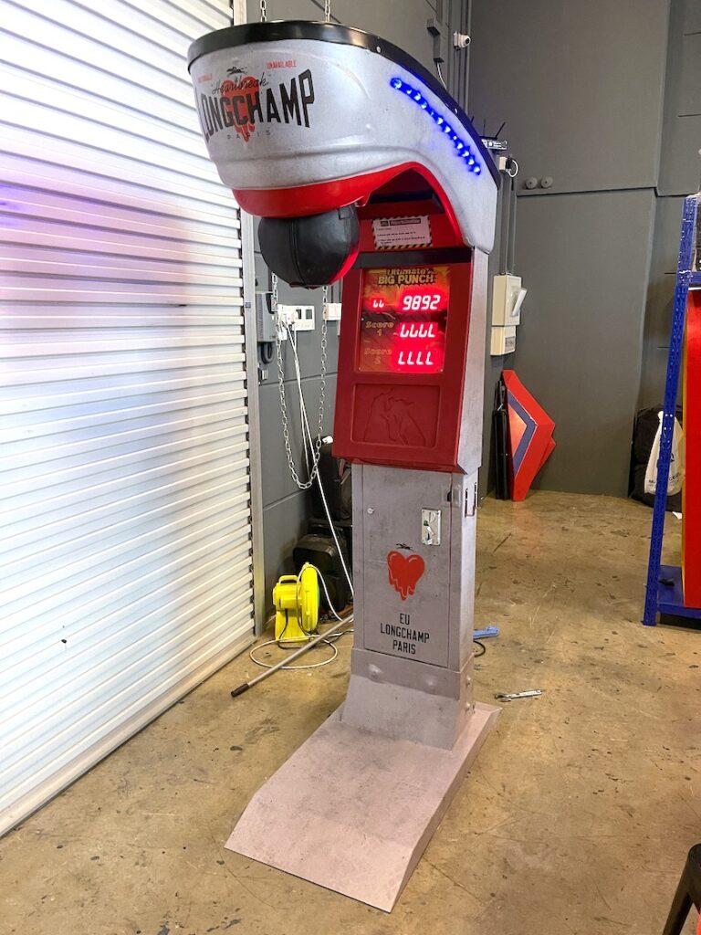 Customised Arcade Puncher Machine Rental Singapore