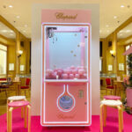 Customised Pink Claw Machine Rental Singapore