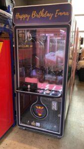 Glass Black Claw Machine Rental Singapore