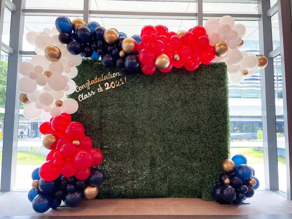 Grass Wall Backdrop Decoration for Hire