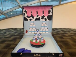 Milk Cans Toss Carnival Games