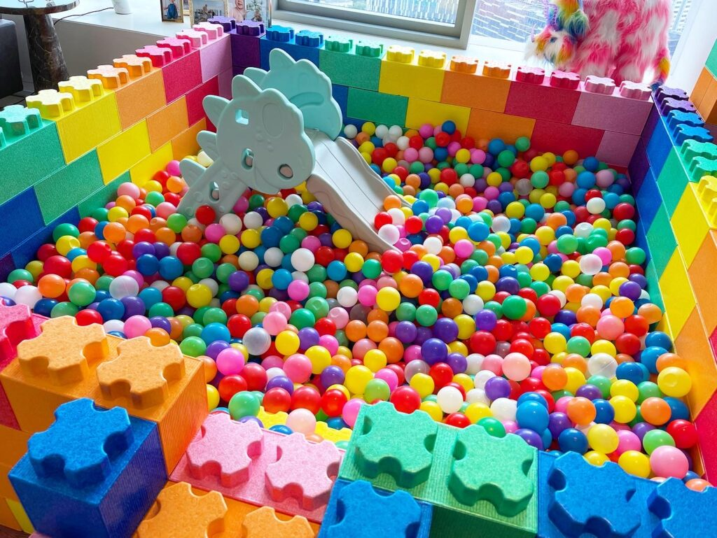 Rent Rainbow Ball Pit in Singapore