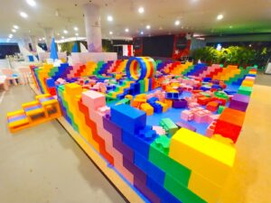 Kids Giant Lego Building Playground for Sale