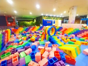 Mega Lego Bricks Playground Singapore