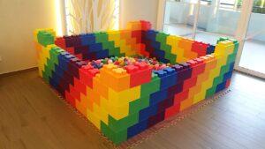 Small Rainbow Ball Pit Rental