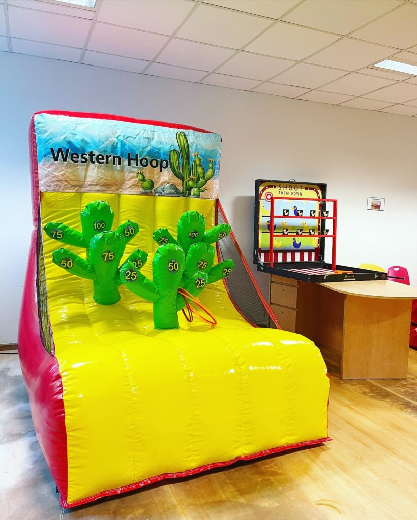 Catus Ring Toss Carnival Game Stall Rental