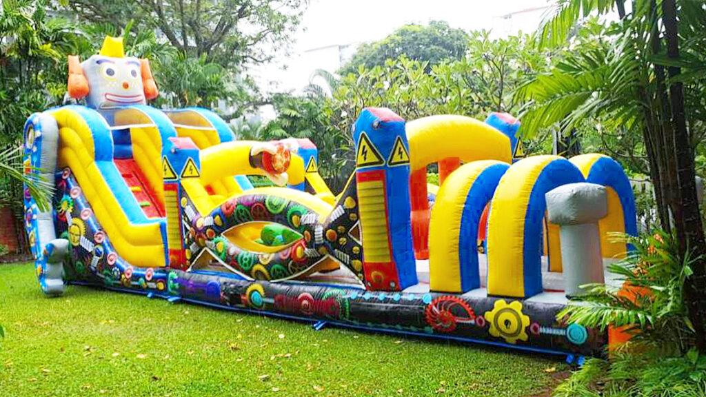 Inflatable Robot Bouncy Castle Rental Singapore