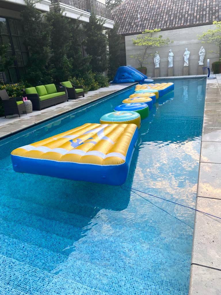 Stepping Stone Water Inflatable Rental Singapore