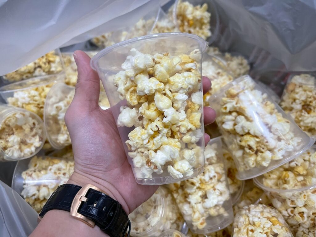 Pre Packed Popcorn in Singapore
