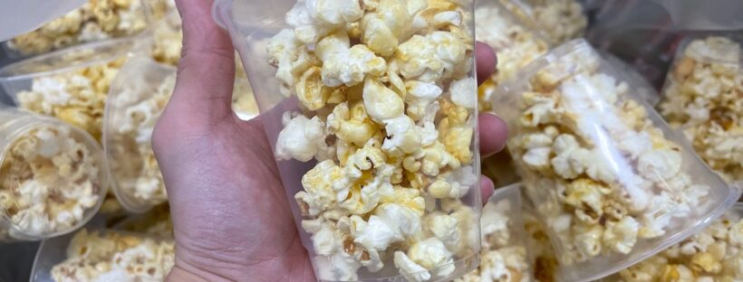 Pre Packed Popcorns and Candy Floss